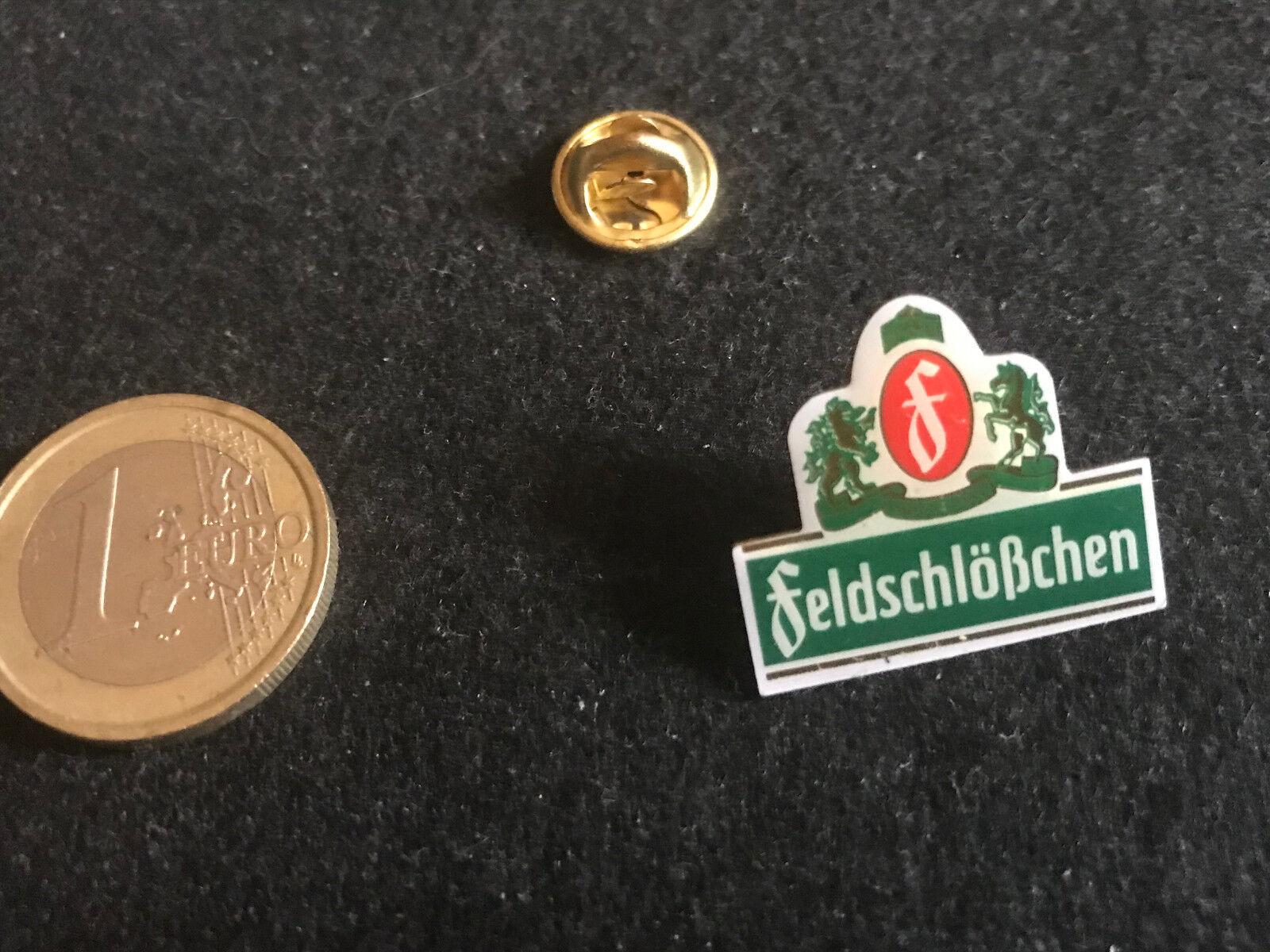 Bier Beer Pin Badge Feldschlößchen Wappen Logo V2