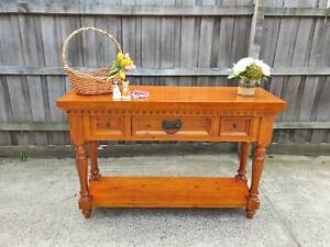 🎀 CONSOLE TABLE/ HALL TABLE WITH 3 DRAWERS