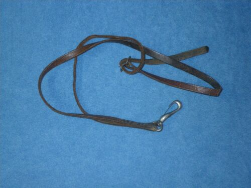 VINTAGE LEATHER BELT BUCKLE STYLE SAXOPHONE STRAP - for CONN SELMER KING MARTIN