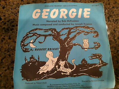 Scholastic Children's Record GEORGIE ghost rhymes 7
