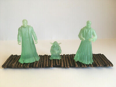 Star Wars: Jedi Spirits (Cinema Scene) Power Of The Force (POTF2) Kenner 1998
