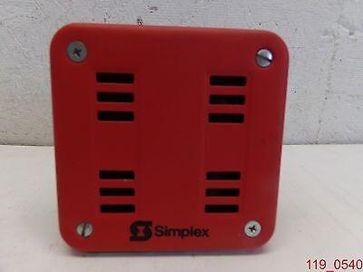 Simplex Horn 2901-9553 2901 9553 6v 1.8amp 60hz Horn Mechanism
