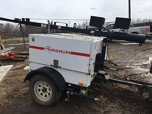 PRICE REDUCED! 8KW magnum light tower