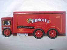 ARNOTT'S BISCUITS TIN TRUCK + 2 LINDT CHRISTMAS TINS!! Avoca Beach Gosford Area Preview