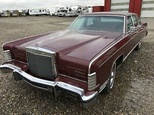 1977 Lincoln Continental mint condition