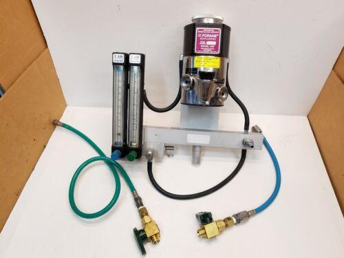 Surgivet Ohio Animal Anesthesia System Isoflurane Model 100F Vaporizer