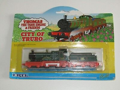 Thomas the Tank Engine and Friends ERTL City of Truro SEALED ON CARD