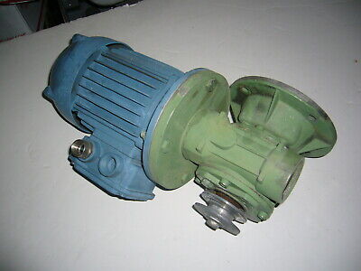 Rack Motor W Right Angle Reducer 3 Phase St63s4 U 220vac Adamatic Oven