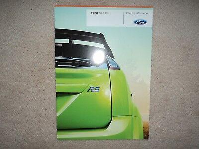 Ford Focus RS (Mk.2)  - Brochure - 2008 - Mint