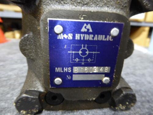 M+S HYDRAULIC MOTOR MLHSB160G4B NEW