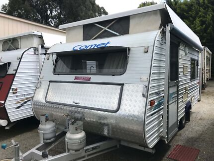 1997 Royal Flair Comet Poptop - Rollout Awning - Single Beds