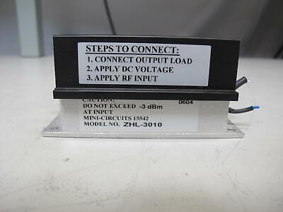 Mini Circuits Zhl-3010 Amplifier