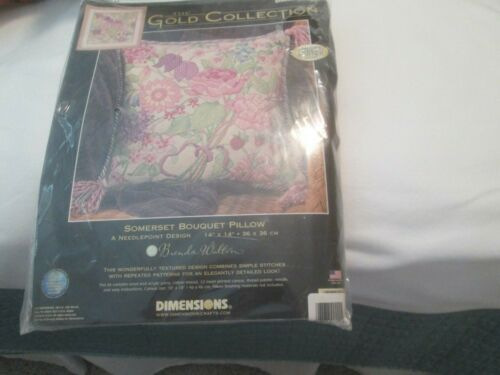 SUMMER BOUQUET-DIMENSIONS/GOLD COLLECTION-NEEDLEPOINT KIT