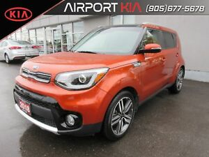 2018 Kia Soul EX Tech DEMO/Nav/Leather/Sunroof