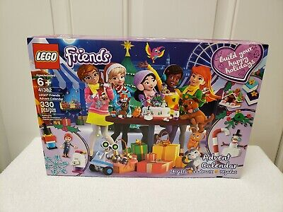 LEGO 41382 - Friends Advent Calendar - 2019 - New in Box - Sealed - 1 DAY SHIP