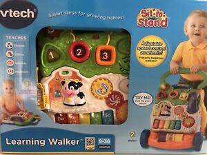 vtech learning walker sit-to-stand
