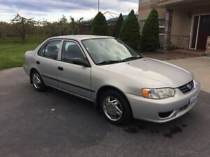 2001 Toyota Corolla *reduced*