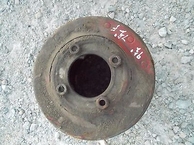 Farmall Sh Mv 300 350 Hv Tractor Ihc Paper Belt Pulley 9 12 Ready Use 4 Bolt