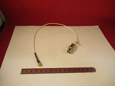 Pcb Piezotronics Cable 002b01 Bnc 10-32 Accelerometer Sensor As Pictured 12-b-11