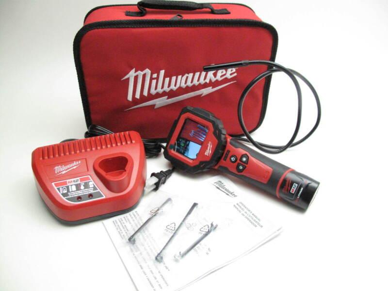 Milwaukee 2313-21 Cordless M-Spector 360 Digital Inspection Camera Kit 12V
