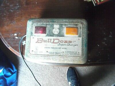 Bull Dozer Model 4309a Electric Fence Controller Works