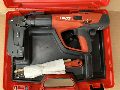 Hilti Dx 460 Mx 72 Powder Actuated Tool Kit Pre Owned.