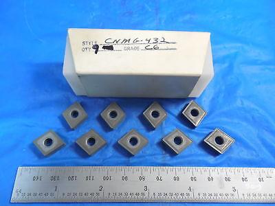 9pcs New Cnmg 432 Grade C6 Carbide Insert Southbend Hardinge Lathe Tooling Usa