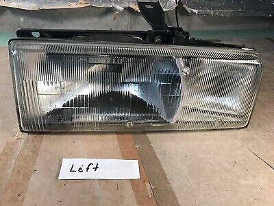 87-93 OEM Cadillac Allante Left LH Headlight Assembly Headlamp Halogen GLASS