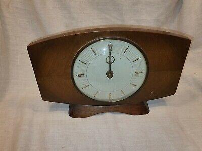 Vintage Metamec Wind Up Clock Spares Or Repair in  Good Condition