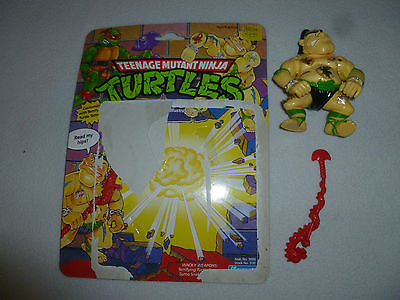 Ninja Turtles-tattoo (VINTAGE TMNT MUTANT NINJA TURTLES TATTOO  FIGURE COMPLETE PLAYMATES TOY 1990 )