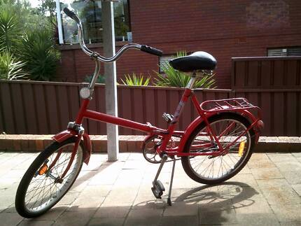 FULLY RESTORED 1960s FOLDABLE BICYCLE by psycholing restorations Sylvania Sutherland Area Preview