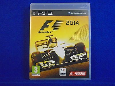 ps3 F1 2014 Formula 1 One The Official Racing Game REGION FREE Pal English segunda mano  Embacar hacia Argentina