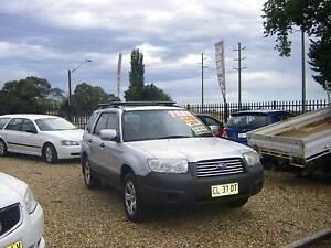 2006 Subaru Forester Wagon X 2.5 Luxury AWD Very Tidy Car 5 spd Orange Orange Area Preview
