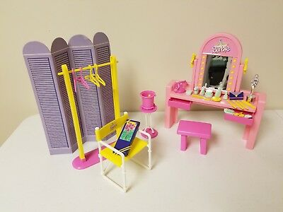 Superstar Barbie Backstage Dressing Room Playset 1989 Used Excellent Condition
