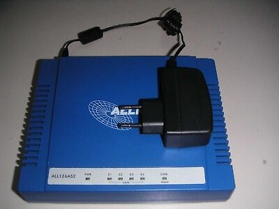 Allnet ALL126AS2 VDSL2-Modem / Bridge max. 100Mbits/S