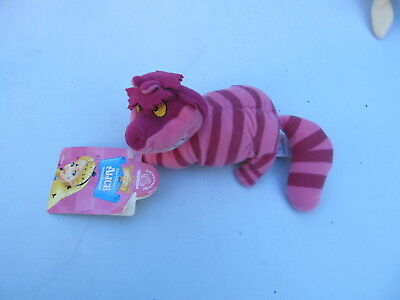 Disney Cheshire Cat plush with tag Alice in Wonderland