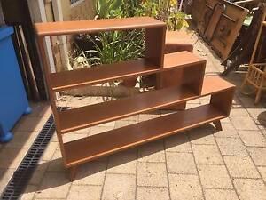 60's Timber Shelf Unit Beckenham Gosnells Area Preview