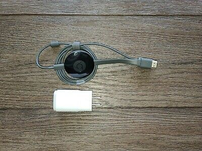 Google Chromecast Ultra 4K - Model NC2-6A5-D Great Used Condition