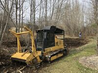 Tree Mulching and Land Clearing Services