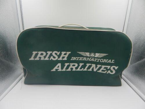 Irish International Airlines Vintage Vinyl Carry on Bag Luggage Aer Lingus