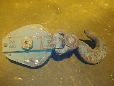10 Ton Sherman Reilly Snatch Block 58 Wire Rope