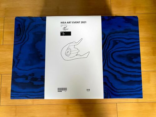Daniel Arsham x IKEA Art event 2021 Clock White IN HAND SHIPS FAST