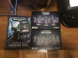 40k Lots Thousand sons neuf!