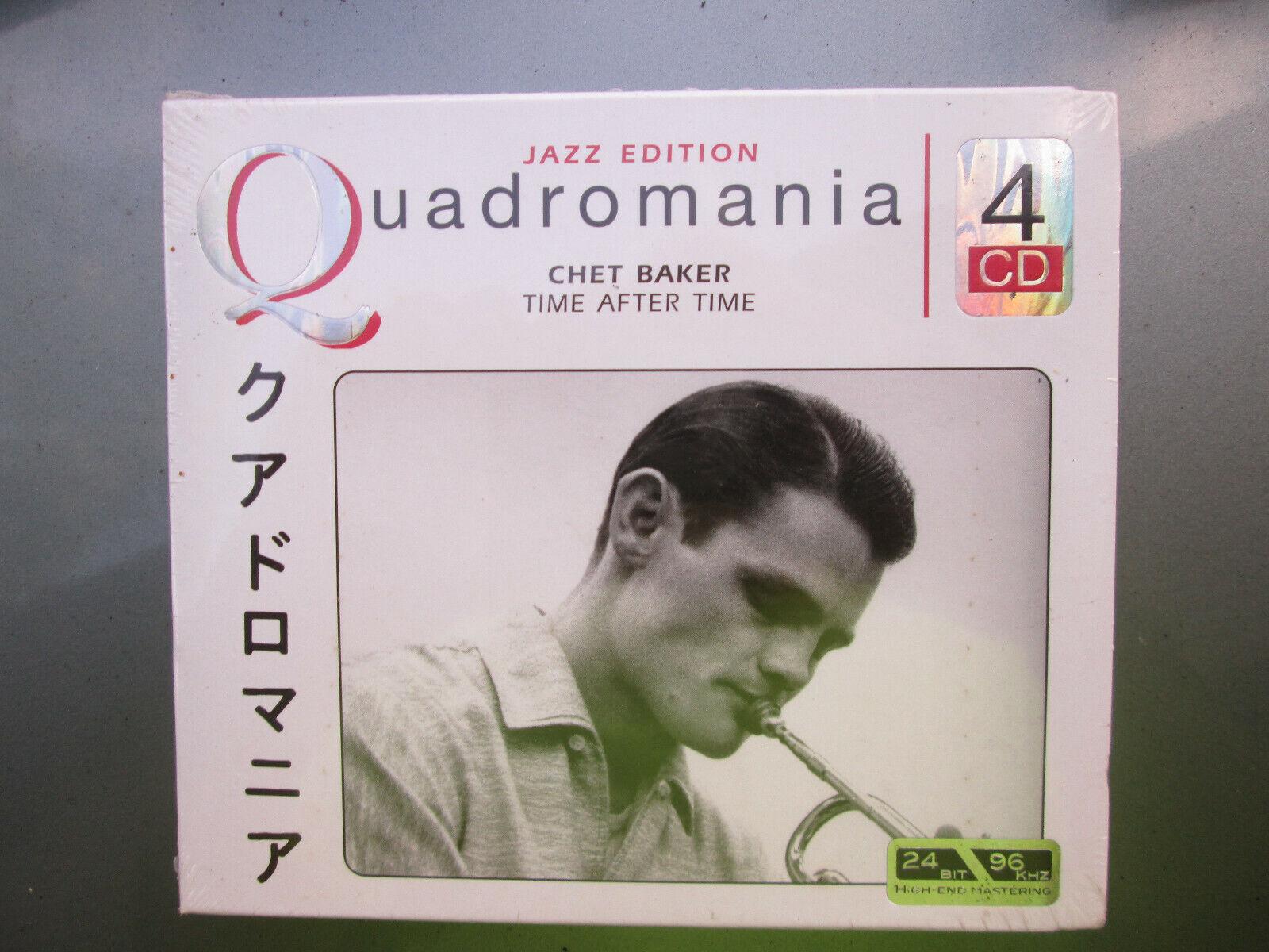 Chet Baker QUADROMANIA Jazz Trumpet - RARE 4 CD Album MINT SEALED COPY  - $59.99