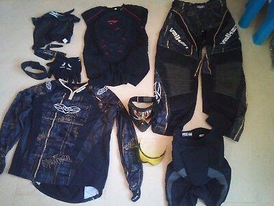 Tenue complète équipement et vêtements protection de paintball / paint ball XL