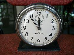 Vintage Westclox 'Big Ben' Style 4a LOUD ALARM - VERY GOOD - SEE DESCRIPTION!