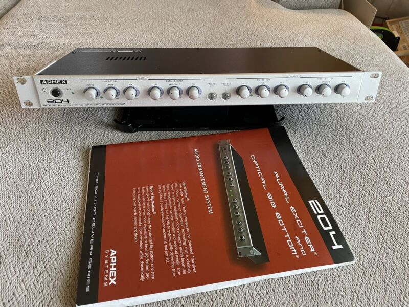 Aphex Model 204 Aural Exciter and Optical Big Bottom