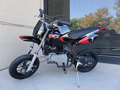 Brand New High Performance 4 Stroke 40cc Black Mini Dirt Bike