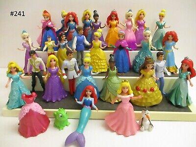 CHOOSE- Disney Princess Action Figures Magic Clip Dolls -Shipping Discount on 2+