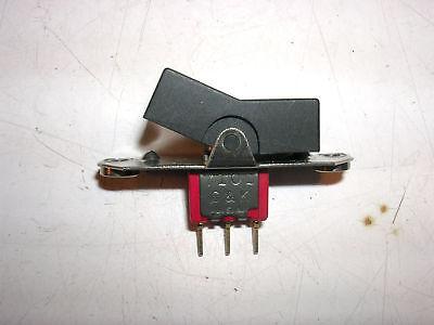 2 Pcs C K 7101 Miniature Rocker Switch Spdt On-none-on Panel Mount